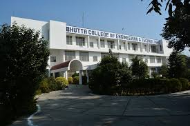 BHUTTA COLLEGE OF ENGINEERING & TECHNOLOGY